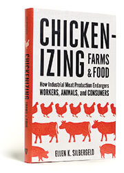 Photograph of the book Chickenizing Farms and Food