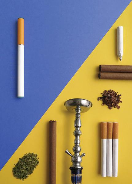 Image of a cigarettes and other tobacco products