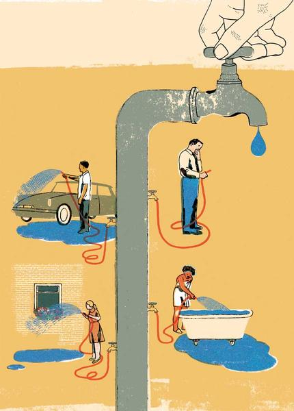 ways to waste water