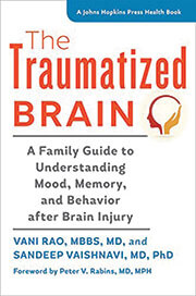 cover of the Traumatized Brain