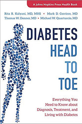 Diabetes Head to Toe book cover
