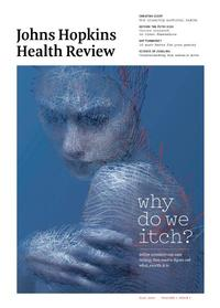 cover of Falll/Winter 2014 issue of the Johns Hopkins Health Review Magazine
