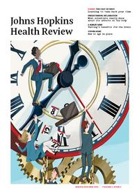 Johns Hopkins Health Review, cover Spring/Summer 2016