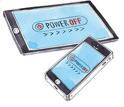 illustration of a smartphone and a tablet