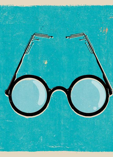 Illustration of glasses